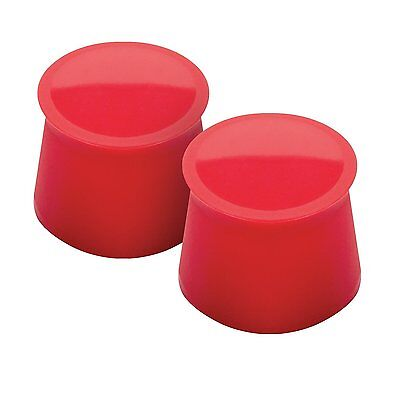 Tovolo Wine Cap, Candy Apple, Set of 2