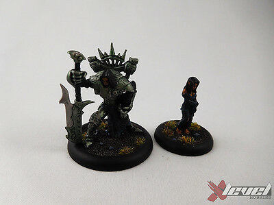 Goreshade the Bastard & Deathwalker – Metal [x1] Cryx [Warmachine] Painted