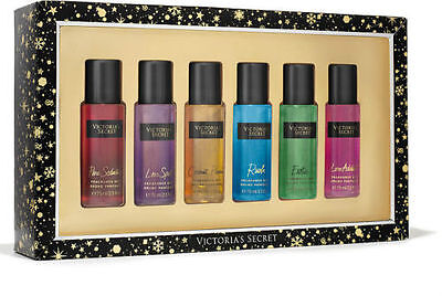 Victoria's Secret Luxurious Fantasy Fragrance 6 Pc Mists VALENTINES Gift Set