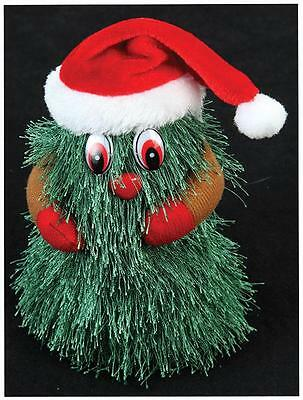 Singing Dancing Musical Novelty Christmas Tree Decoration 18cm Battery Operated