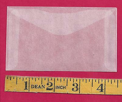 "100 NEW JBM #3 Glassine Envelopes 2-1/2"" x 4-1/4"""