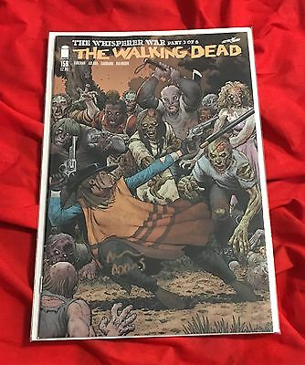The Walking Dead #159~Andrea Variant Edition~Hand-Signed By Arthur Adams~Twd~