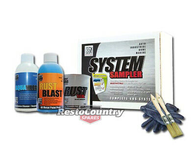 KBS Coating System Small Sampler Kit Chassis SATIN BLACK Rust Preventative Paint