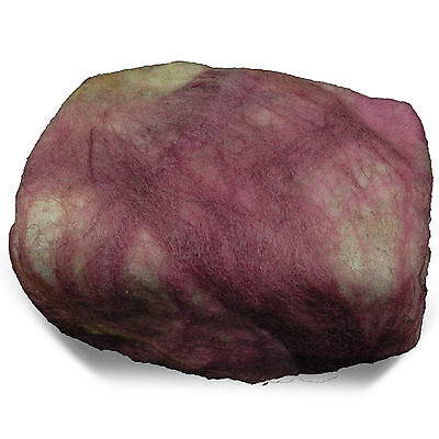 New Pink Felted Soap Stone - Handmade in USA