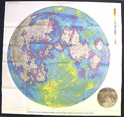 USGS APOLLO PHOTOGRAPHIC STUDY of the ALBEDO of MOON with THE COOLEST MAP!