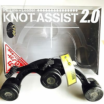 Daiichi Seiko Knot Assist 2.0 Black FG Braided Line to Leader Connection F/S
