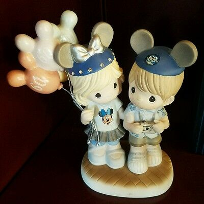 Disney Precious Moments 60 Years of Happiness Porcelain figures Diamond Micky