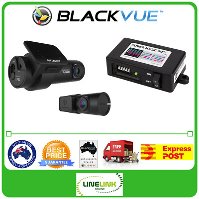 New Blackvue DR650S-2CH 16Gb Dual Dash Cam 1080p With Free Power Magic Pro Kit