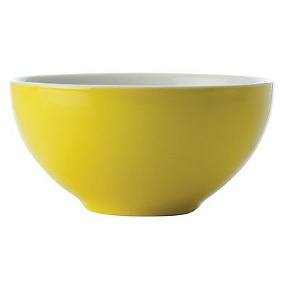 New Maxwell & Williams Colour Basics Yellow 13.5cm Bowl