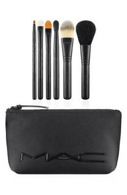 MAC Cosmetics Look in a Box Basic Brush Set New Unboxed With Bag
