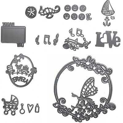 Metal Cutting Dies Stencil Scrapbook Album Paper Card Embossing New