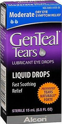 Genteal MODERATE Dry Eye Lubricant Drops 15ml