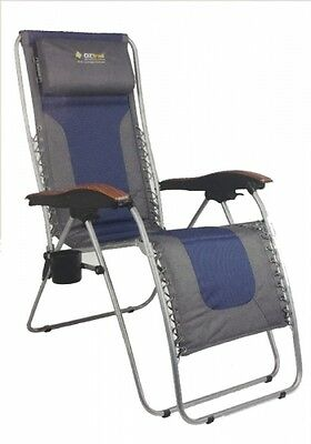 NEW Oztrail  Sun Lounge Deluxe 2015 - Camping Chairs & Beds
