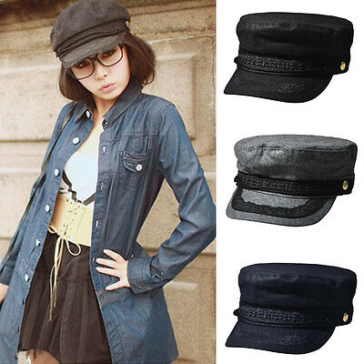 Women Classic Cotton Combat Army Military Sun Hat Button Cotton Outdoor Caps Hat