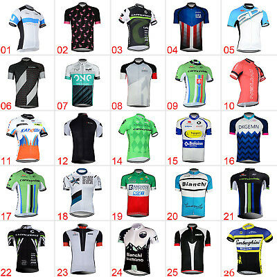 New Cycling Clothing Bicycle Jerseys Sports Wear Riding Short Sleeve Tops Shirts