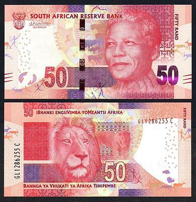SOUTH AFRICA  50 Rand 2016 UNC Pick 140 b