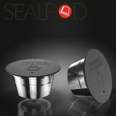 Sealpod Refillable Nescafe Dolce Gusto Coffee Capsule Pod Compatible 1pc