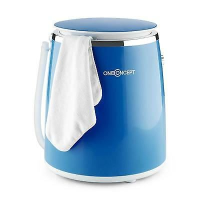Portable Washing Machine Camping Eco Washer Laundry Travel Compact Blue Spin New