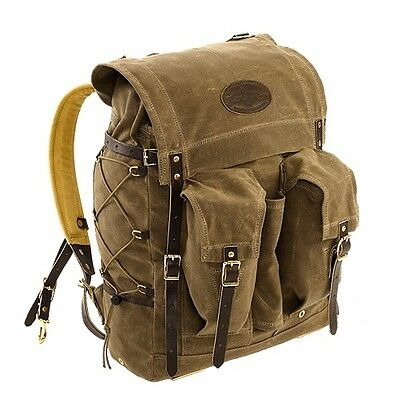 Frost River Isle Royale Bushcraft Pack Waxed Canvas/Leather/Brass Rucksack
