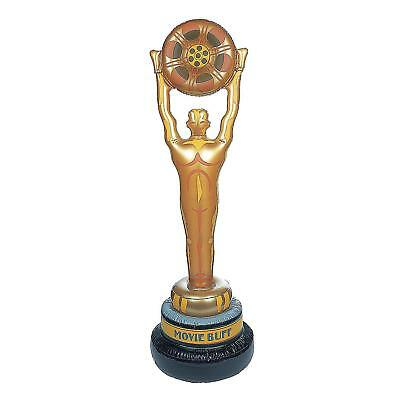 5 Ft Tall Giant Inflatable Gold Movie Film Award Oscar Blow Up Toy Inflate Gift