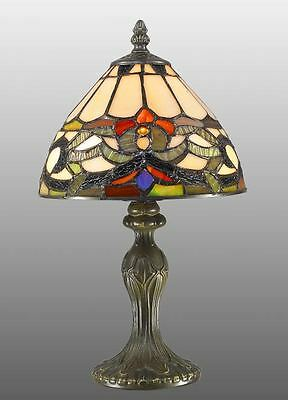 Tiffany style ivy stained glass handcrafted table lamp ideal tiffany style ivy stained glass handcrafted table lamp ideal christmas gift mozeypictures Image collections