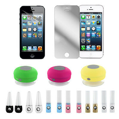 USB Powered Colorful LED Dancing Water Mini Music Speakers for Iphone 4s 5 L3