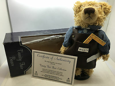Handmade Vanity Fair Bear Collection Billy by Stewart Ross - Boxed.