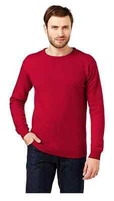 ProQuip Unisex Red Medium Jumper - Pro Quip Clothing 100% Lambs Wool- Golf
