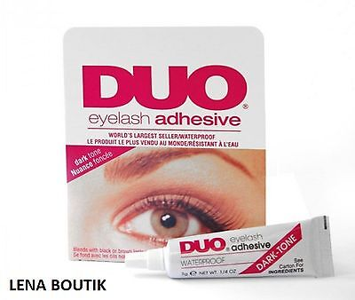 COLLE FAUX-CILS Waterproof  cils Noirs & Bruns Maquillage Eyelash Adhesive
