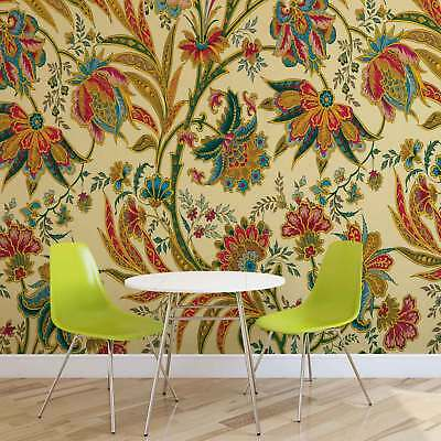 WALL MURAL PHOTO WALLPAPER XXL Floral Pattern (1654WS)