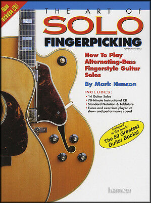 The Art of Solo Fingerpicking Guitar TAB Book/CDHow to Play Fingerstyle Solos