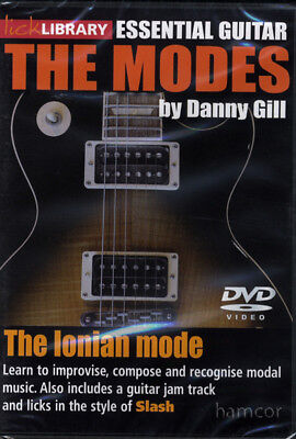 The Ionian Mode Lick Library Guitar DVD Slash Style