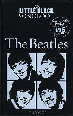 The Beatles The Little Black Songbook Guitar Chords & Lyrics Music Song Book