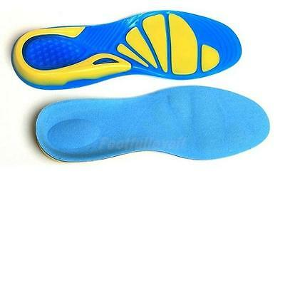 Orthotic Arch Support Insoles Sport Shoe Shock Absorb Gel Heel Plantar Fasciitis