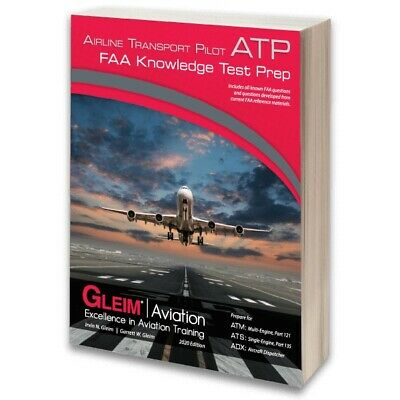 Gleim Airline Transport Pilot FAA Knowledge Test ATP Written Exam Book - 2018