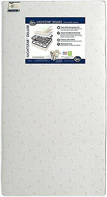 Serta Nightstar Deluxe Crib and Toddler Mattress Brand New See Details