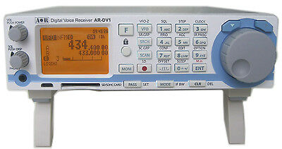DEMO AOR AR-DV1 wideband communications receiver UNBLOCKED version