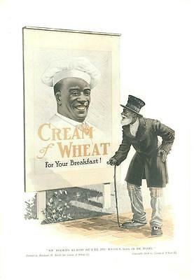 Cream of Wheat  -  Ah Reckon as How He's De Bes' Known Man in De Worl  -  1914