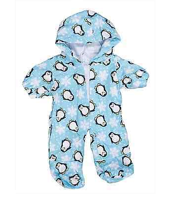 "Penguin Onesie outfit / clothes to fit 8"" bear factory bears"