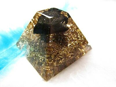 King of orgonites - with natural SHUNGITE - Healing Orgone energy