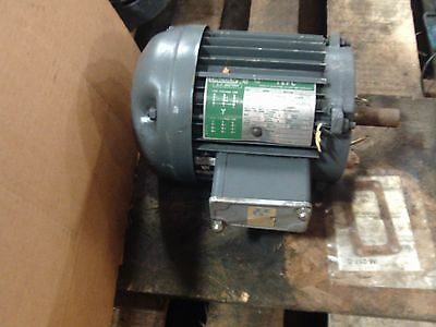 Lincoln A.C. Motor RPM 1735, 1HP, 3PHASE Frame 143T