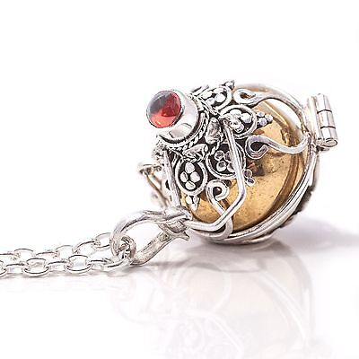 925 Sterling Silver, Harmony Chime Ball Pendant