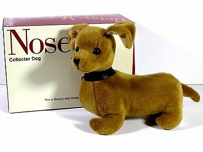 Nib Betsy Mccall Doll Pet Collector Dog Nosey Robert Tonner 1997