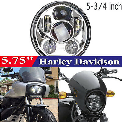 "COOL 5-3/4"" 5.75"" Harley Davidson Daymaker Projector LED Headlight Lamp Bulb"