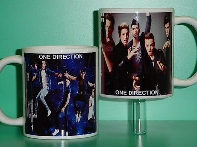 ONE DIRECTION - with 2 Photos - Designer Collectible GIFT Mug 02