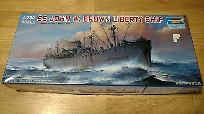 1/700 Trumpeter SS John W. Brown Liberty Ship