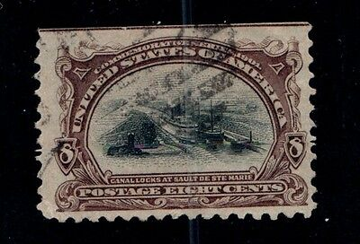 Goldpath Us Classic Stamp, Sc# 298, Used
