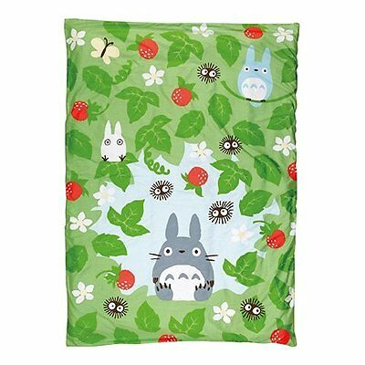 "[Studio Ghibli My Neighbor Totoro] Quilt cover 150  210cm ""Wild Strawberrie"
