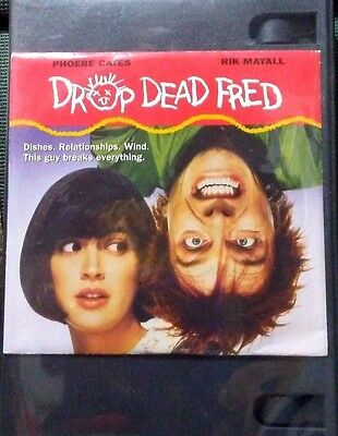 DVDS  DROP  DEAD  FRED  !  Brand New - Promo Version ( envelope ) STILL SEALED !
