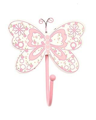 Pink Butterfly Clothes, Bedroom Hook